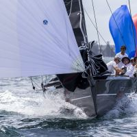 3 Little Nico gets a move on   Andrea Francolini pic   Sydney Harbour Regatta   low res